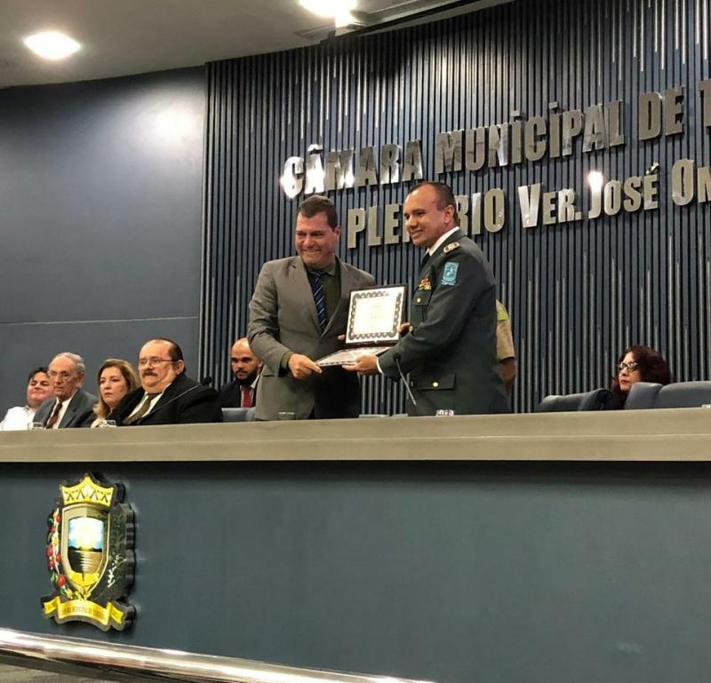 Irmãos Monte Filho e Sousa Filho recebem título de cidadão teresinense
