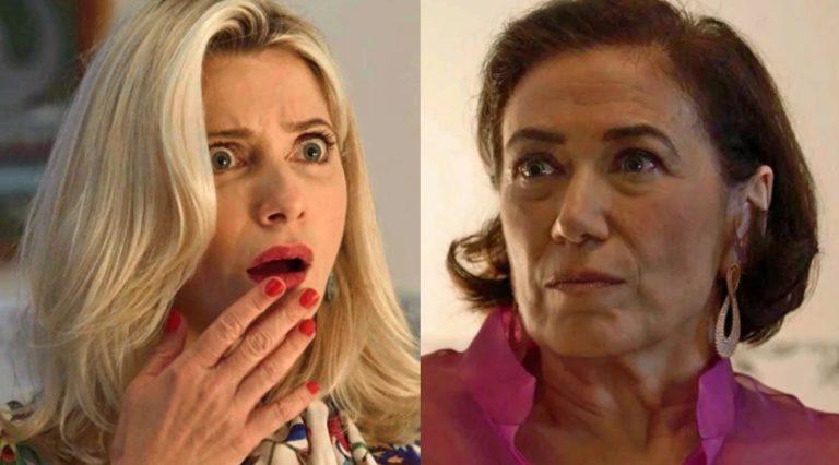 Valentina choca ao contar que é irmã mais nova de Marilda
