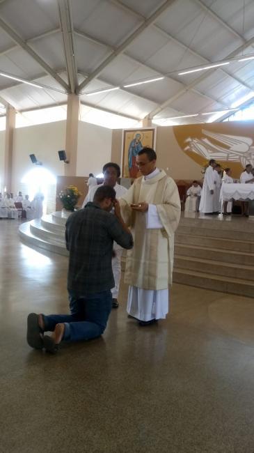 Francisco Aquino foi ordenado diácono de Olho D'água do Piauí