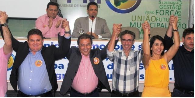 Prefeita Ceiça Dias ocupará cargo de 1ª secretária na diretoria da APPM