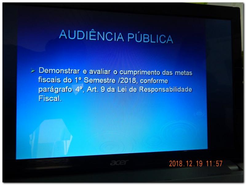 Prefeitura de Inhuma realiza Audiência Pública