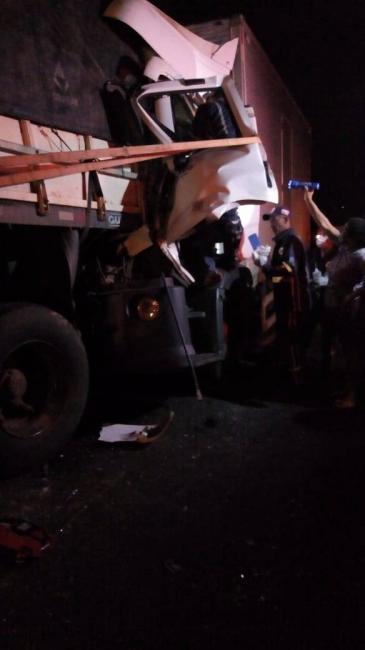 Grave acidente na Br-135  deixa vítima fatal