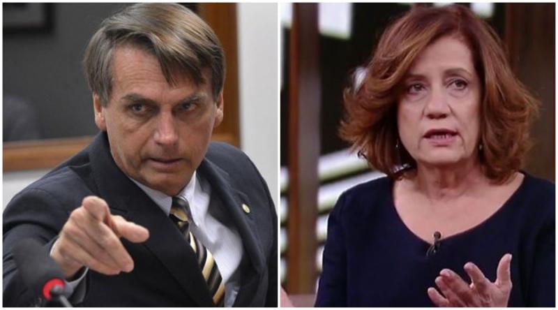 Bolsonaro chama jornalista de 'porca' e que 'irá lamber suas botas'