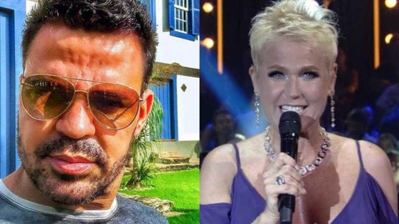 Xuxa sai do palco e se recusa a cumprimentar Eduardo Costa