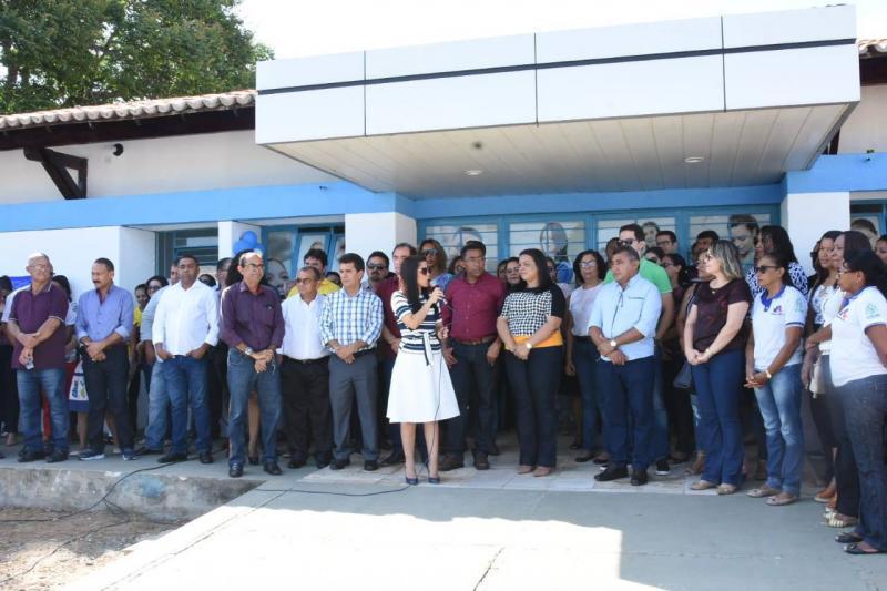 PMF entrega mais uma UBS reestruturada em Floriano
