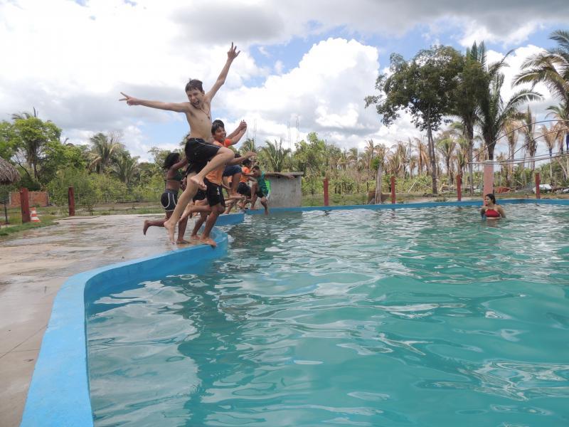 SEMASC | Promove dia de lazer com Idosos e adolescentes de Campo Largo - PI