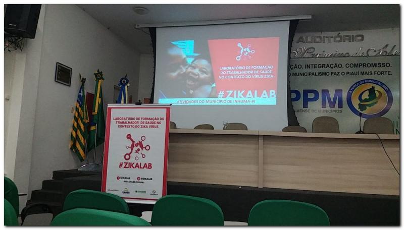 Oficina de encerramento do Projeto Zikalab no Estado do Piauí
