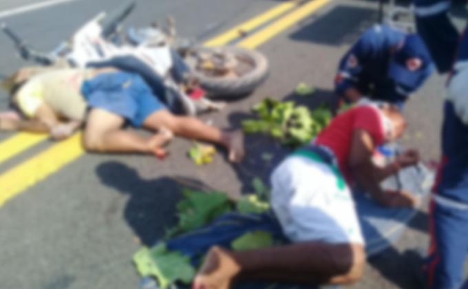 Colisão entre motocicletas deixa um morto em Monsenhor Gil