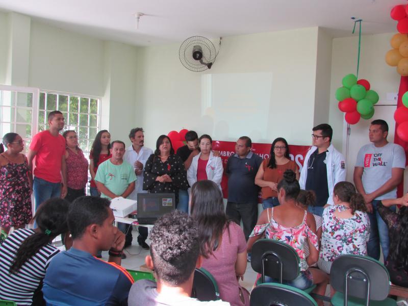 Secretaria de saúde de realiza evento em alusão ao Dezembro Vermelho