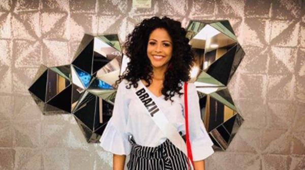 Monalysa Alcântara faz campanha para o Miss Universo