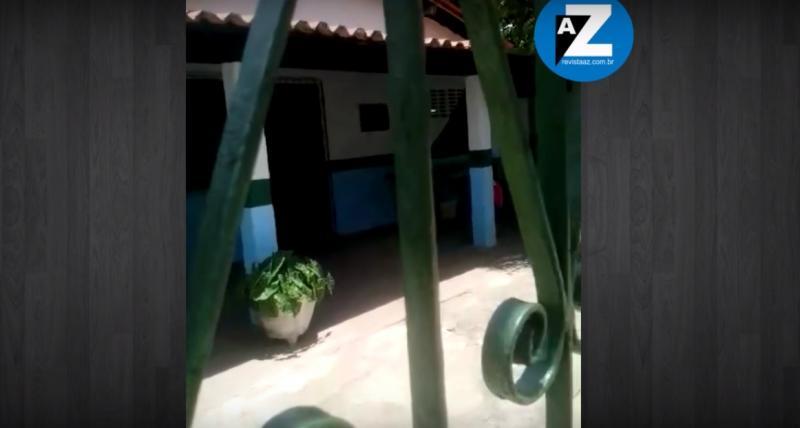 Criança é esquecida e trancada em sala de escola no Piauí