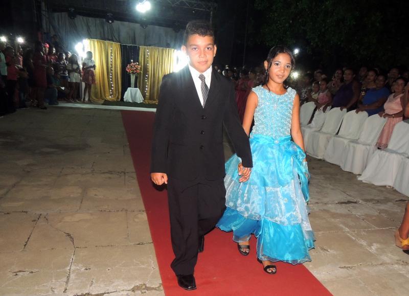 Solenidade de colação de grau e baile de formatura da E. M. Helvídeo Nunes