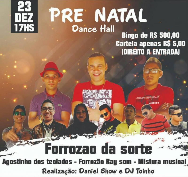 Demerval Lobão | Dance Hall apresenta 'forrozão da sorte' domingo (23)
