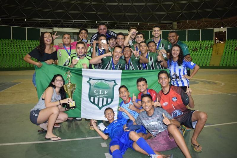 CLF campeão do piauiense de Futsal e está na taça Brasil de Futsal em 2019