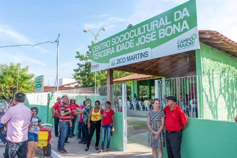 Prefeitura inaugura Complexo da Melhor Idade em Campo Maior