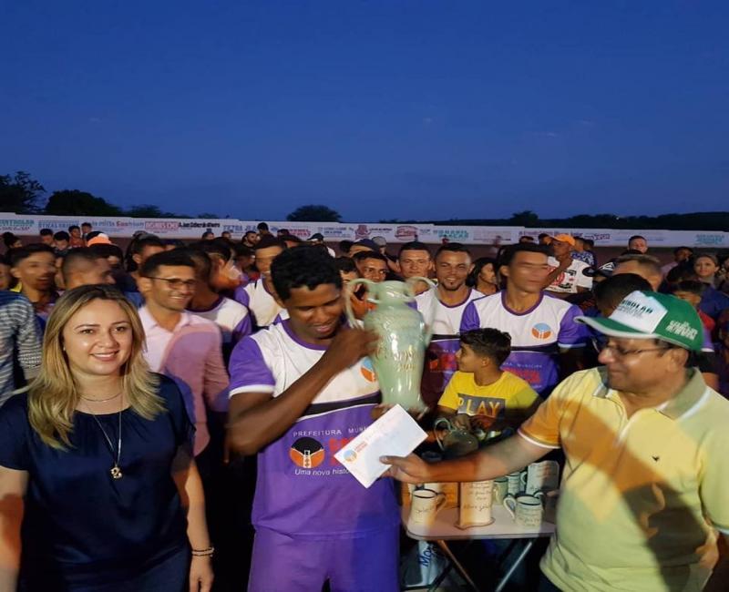 Seleção das Lages vence campeonato municipal de Coronel José Dias