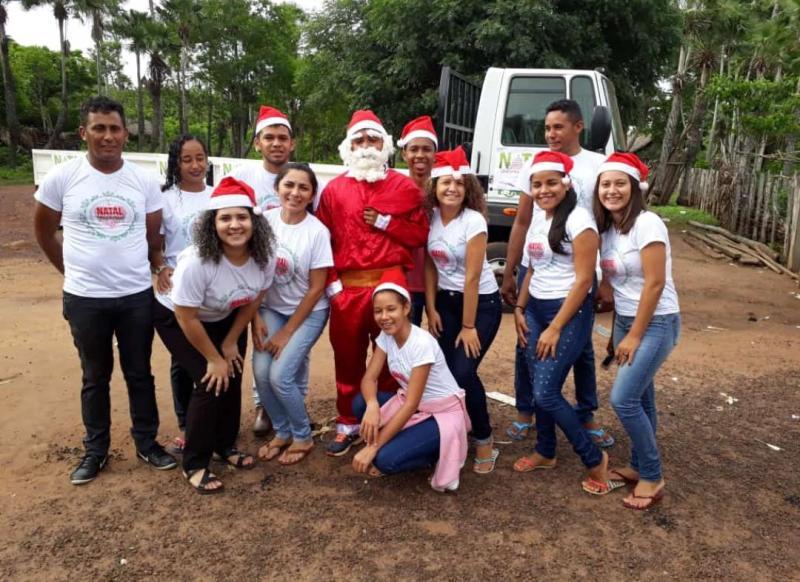 Comunidade Marruazinho realizou distribuição de alimentos na comunidade