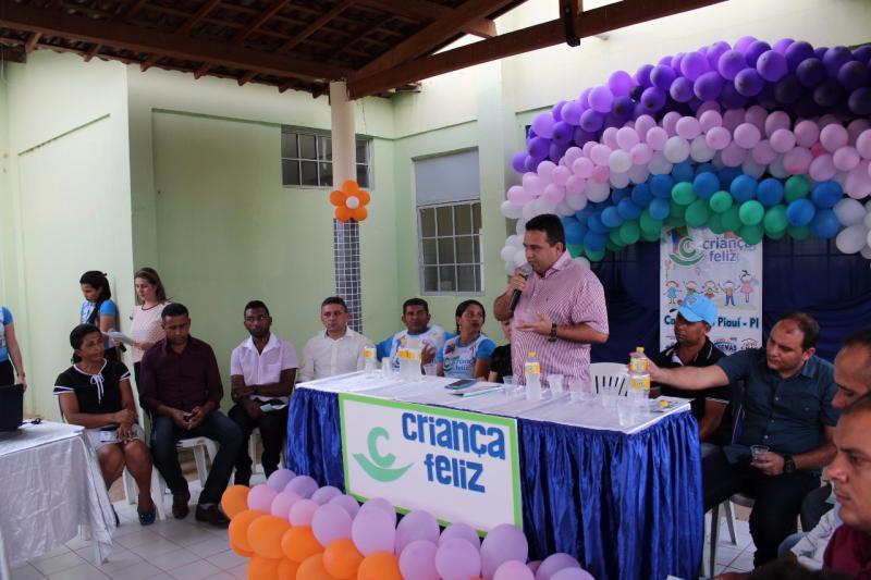 Programa 'Criança Feliz' é lançado em Caridade do Piauí
