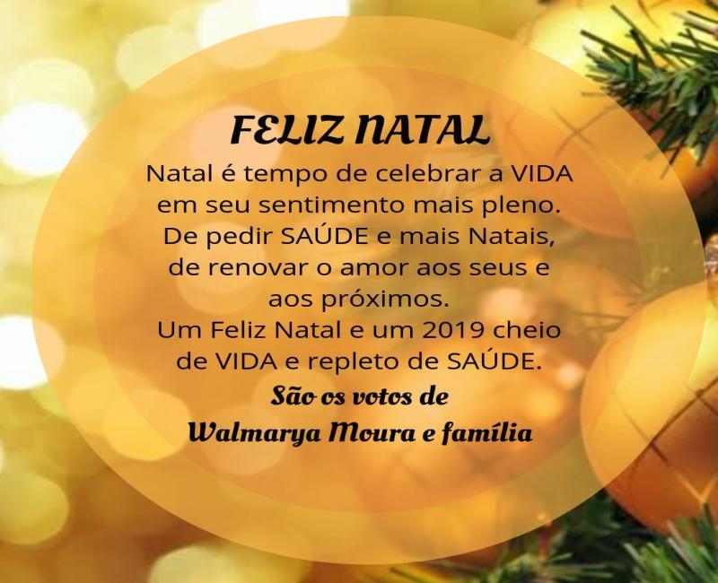 Secretaria de saude Walmaria Moura envia mensagens para população