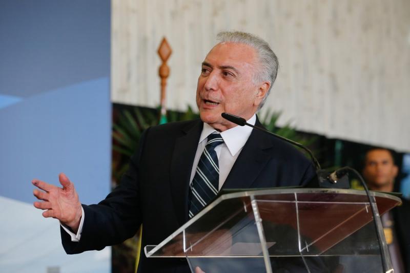 Michel Temer disse que queria deixar o Brasil melhor