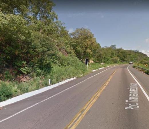 Motociclista morre após colidir contra placa de sinalização na BR-316