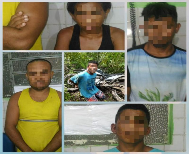 Bandidos são detidos durante reunião para planejar assaltos no Piauí