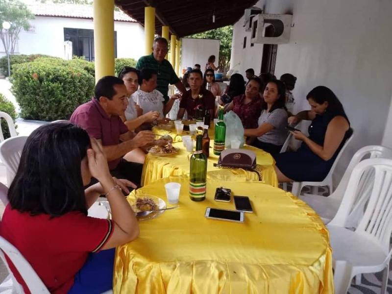 Funcionários da SEMAS/Beneditinos se confraternizam em linda festa,veja