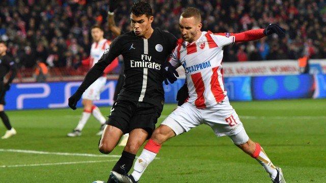 Thiago Silva desbanca Neymar como o melhor estrangeiro no futebol francês