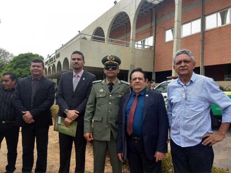 Superintendente do Strans é promovido a Capitão da PM de Uruçuí