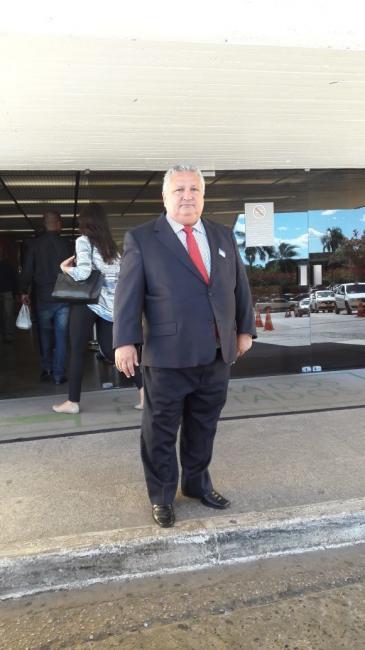 Prefeito Dr Alcione viaja a brasília em busca de recursos para o município