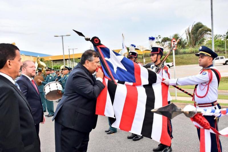 Flávio Dino toma posse como governador do Maranhão