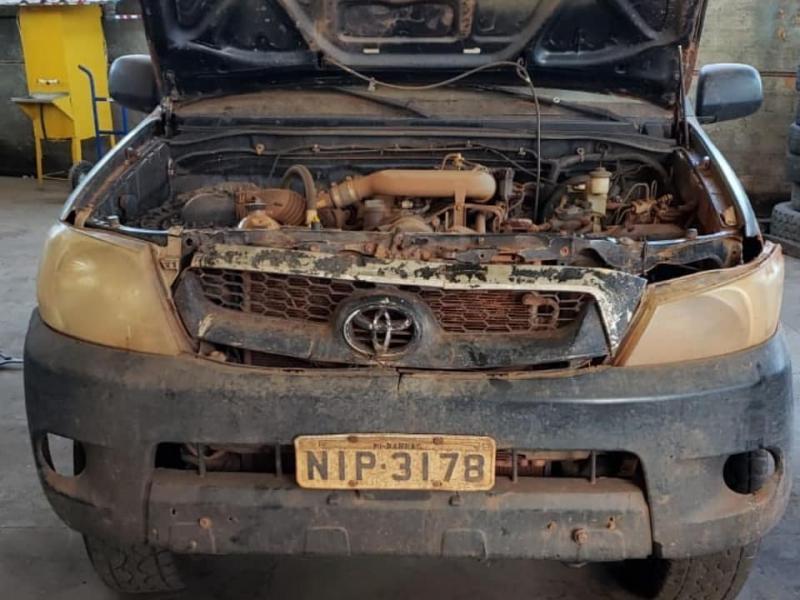 Prefeitura recupera veículos abandonados de gestão anteriores