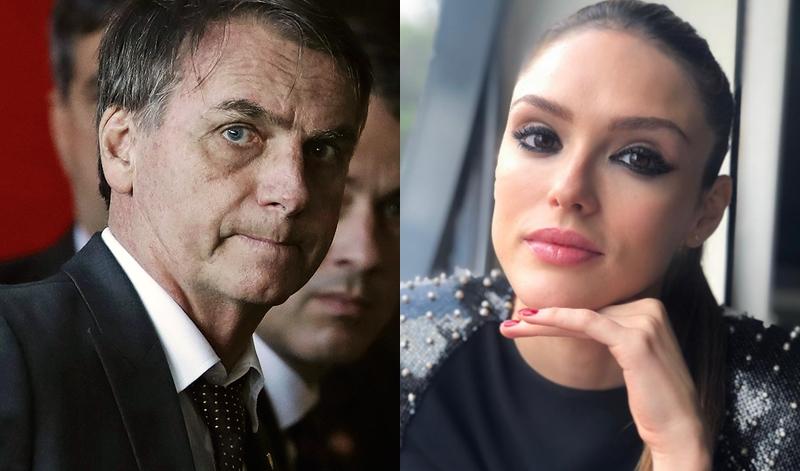 Isabelle Drummond insinua apoio a Bolsonaro e é massacrada na internet