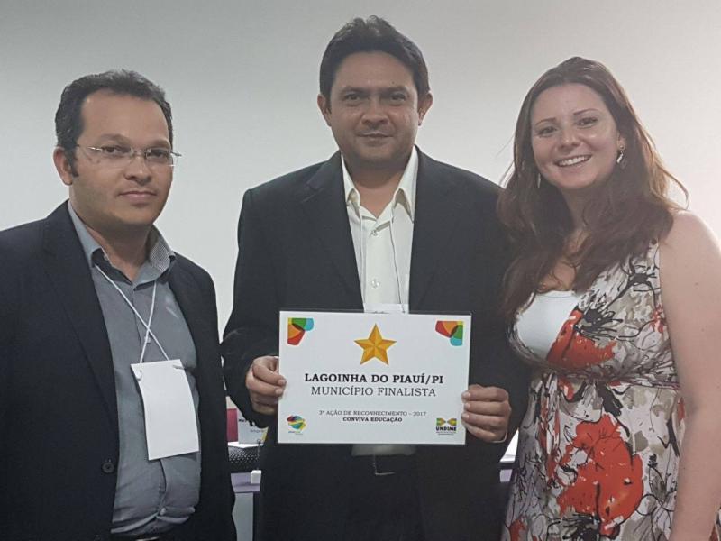 Município de Lagoinha do Piauí é um dos finalistas do Conviva Educação