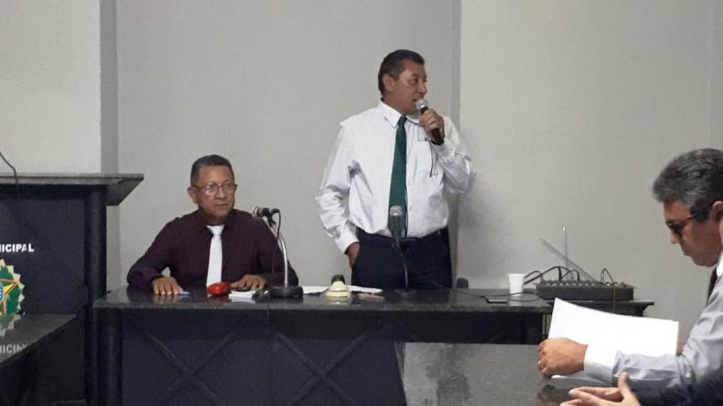 Raimundo Gomes assume a presidência da Câmara de Capitão de Campos