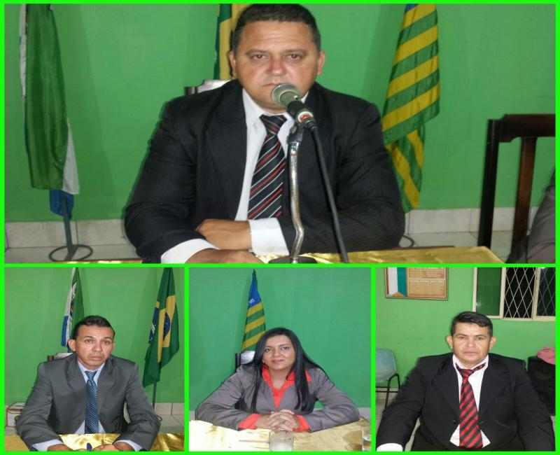 Empossada nova mesa diretora da Câmara Municipal de São João do Arraial