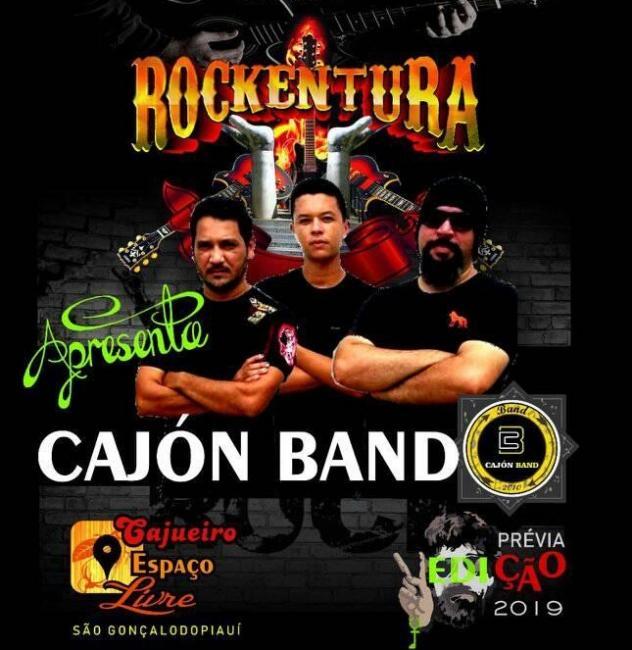 Conheça a Cajón Band, banda que fez a abertura da prévia do Rockentura