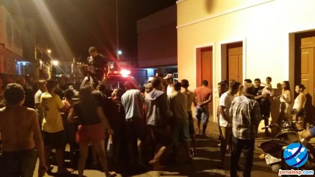 Assaltante é espancado por populares no interior do Piauí