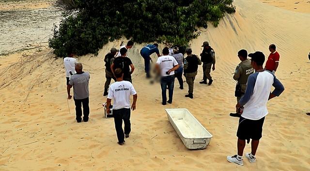 Corpo é encontrado nas dunas da Lagoa do Portinho em Parnaíba