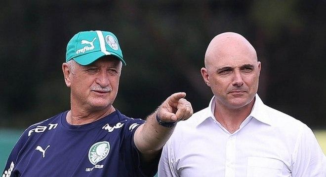 Com 36 jogadores, Felipão inicia 'ajuste fino' no elenco do Palmeiras