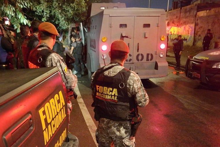 Estados do Nordeste enviam agentes de segurança ao Ceará