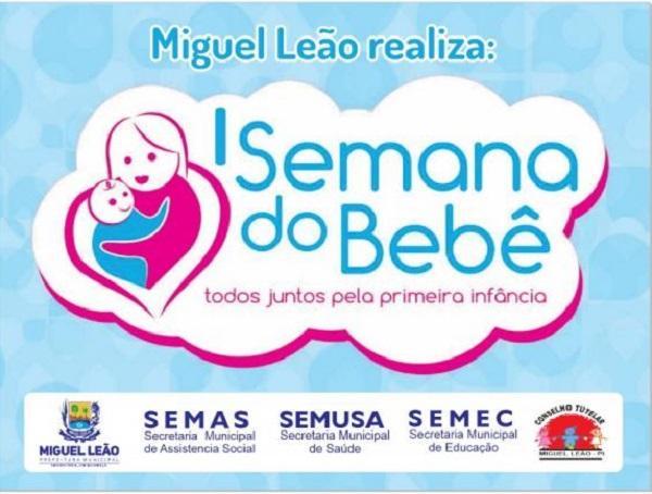Prefeitura realizará primeira 'Semana do Bebê' no município