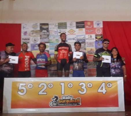 Colônia do Gurgueia 1º e 2º lugar no pódio principal do Rally Gurgueia II