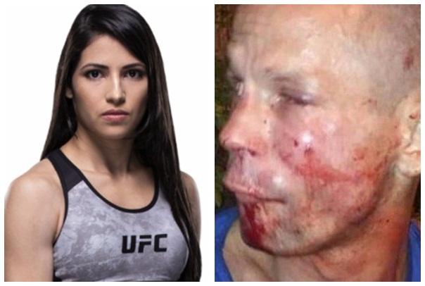 Lutadora do UFC reage a assalto dá surra em ladrão