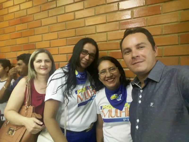 Demervalense George Veloso participa de convenção em Teresina