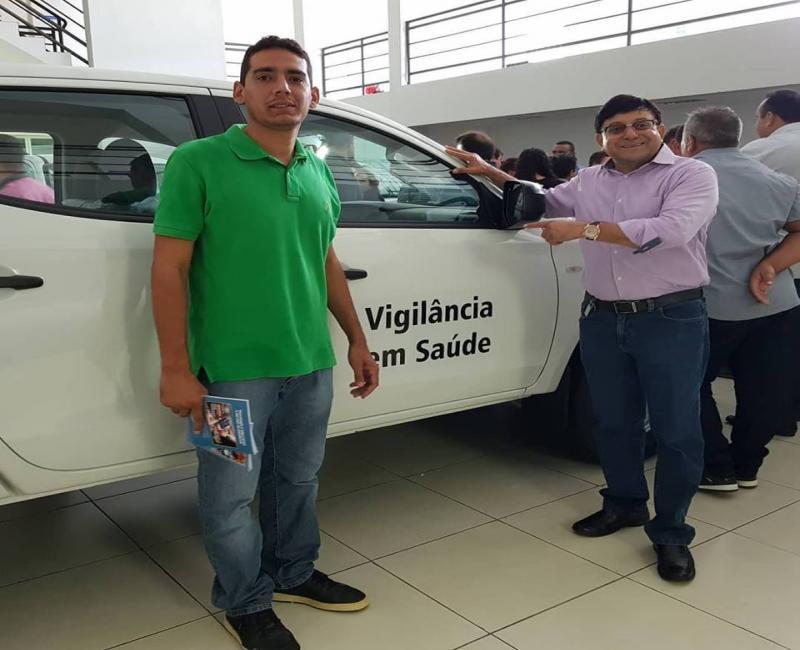 Secretaria de saúde de Coronel José Dias recebe veículo novo