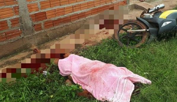 Mulher é morta na porta de casa pela amante do marido no Piauí
