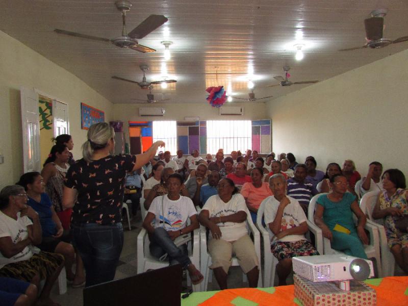 Serviço de convivência e fortalecimento de vínculos comemora o dia do idoso