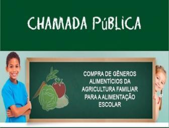 Chamada Pública é aberta para aquisição de produtos da Agricultura Familiar