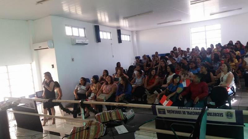 I Seminário Municipal de Introdução ao PNAIC é realizado em Corrente